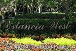 Estancia West community sign